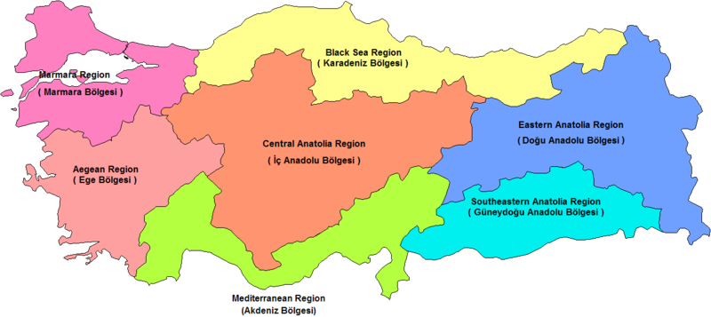 Fájl:Turkey Regions.png