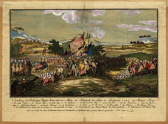 Abdul Hamid I - The Ottoman Army advances from Sofia, its largest garrison in Rumelia, in the year 1788.