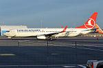 Turkish Airlines, TC-JYJ, Boeing 737-9F2 ER (21956996284).jpg