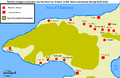 Turkish villages and towns burned down by Greeks in the Yalova peninsula 1920-1921.PNG