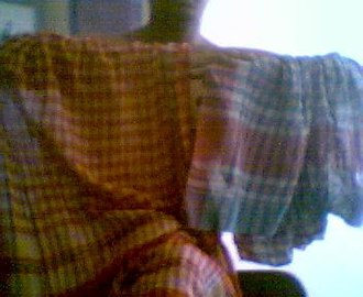Gamucha - A pair of gamchhas with typical check patterns