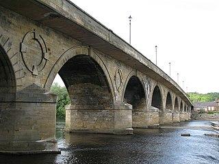 Hexham Bridge bridge in United Kingdom