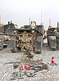 U.S. Army Spc. Lyle Carter, a wheeled vehicle driver with the 396th Transportation Company, 157th Combat Sustainment Support Battalion, Task Force Durable, poses for a photo at Bagram Airfield in Parwan 130214-A-FS017-004.jpg