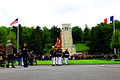 U.S. Marines with the 5th Marine Regiment march off the parade field after a Memorial Day ceremony May 26, 2013, at the Aisne-Marne American Cemetery and Memorial in Belleau, France 130526-M-XI134-020.jpg