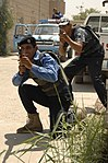 U.S. Soldiers train Iraqi police in Reaction to Contact DVIDS110442.jpg