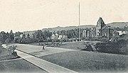 Photo of the UC campus in Berkeley around 1898
