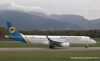 UR-EMA - E190 - Ukraine Int. Airlines