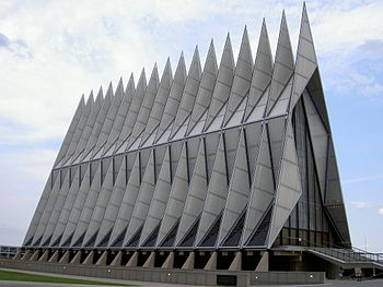 The Cadet Chapel at United States Air Force Ac...