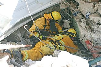 @fire International Disaster Response Germany - Image: USAR