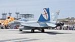 USMC FA-18C Hornet(DC00, No.164270) of VMFA-122 left rear view static display at NCAS Iwakuni Base May 5, 2016.jpg