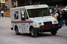 Postal service photograph