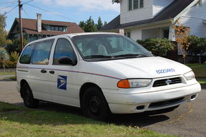 English: United States Postal Service, Ford Wi...