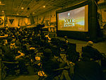 USS Carl Vinson Super Bowl party 150203-N-TP834-466.jpg