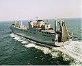 US Navy 030530-N-0000X-002 Sea trials of USNS Benavidez (T-AKR-306) by Northrop Grumman Ship System Avondale Operations.jpg
