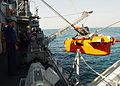 US Navy 040728-N-4374S-010 Sailors assigned to the mine countermeasure ship USS Dextrous (MCM 13) raise the AN-SLQ-48 Mine Neutralization Vehicle.jpg