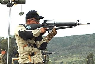 High power rifle