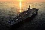 US Navy 171206-N-XC372-1103 USS Theodore Roosevelt (CVN 71) transits the Arabian Gulf.jpg