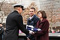 US Navy Ceremonial Guard Presents Flag to 9-11 Memorial and Museum 160315-N-LR347-004.jpg