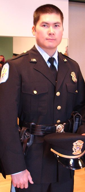 United States Park Police - US Park Police Officer D. Lin in class A uniform