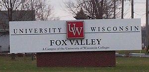 University of Wisconsin–Fox Valley - Sign
