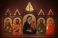Ugolino di nerio, madonna col bambino e santi (cleveland), 1320 ca. 01.jpg