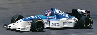 Ukyo Katayama - Katayama driving for Tyrrell at the 1995 British Grand Prix.