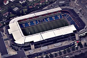 Ullevaal Stadion - Image: Ullevål Stadium (8077753565)