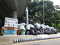 Umbrella Revolution - Harcourt Road recycling station.jpg