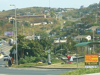 Umlazi Place in KwaZulu-Natal, South Africa