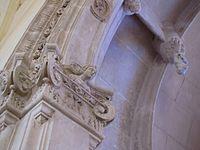 Un détail de la chapelle funéraire Renaissance..JPG