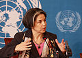 Under Secretary Maria Otero, March 1, 2010 Press Conference.jpg