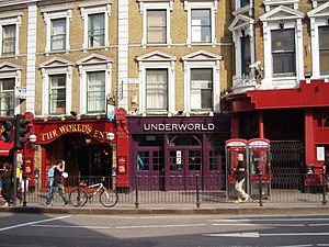 Camden Crawl - Underworld, one of the venues which hosted Camden Crawl performances in multiple years