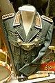 Uniform tunic of WW2 German Wehrmacht front gendarm, gorget (Feldgendarmerie), hand grenade, etc. Lofoten Krigsminnemuseum (WW2 Memorial Museum) Svolvær, Norway 2019-05-08 DSC00056.jpg