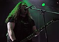 Unleashed, Johnny Hedlund at Party.San Metal Open Air 2013 09.jpg