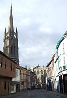 Upgate in Louth mit Spire