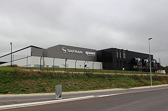 Safran - Image: Usine Safran Albany 2