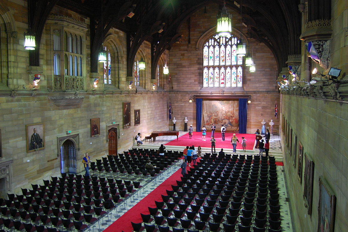 Great Hall Of The University Of Sydney Wikipedia