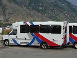 Utah Transit Authority - Utah Transit Authority paratransit bus