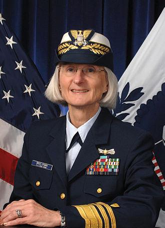Sally Brice-O'Hara - Vice Admiral Sally Brice-O'Hara 27th Vice Commandant of the United States Coast Guard