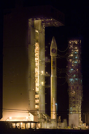 Vandenberg AFB Space Launch Complex 3 - The first Atlas V to launch from the West Coast at SLC-3E.