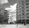 VIEW OF BUILDINGS ON KING GEORGE STREET IN JERUSALEM. מראה כללי של בניינים ברחוב יפו בירושלים.D728-067.jpg