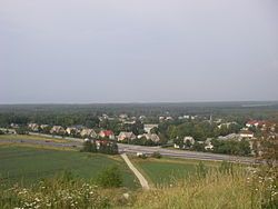 View from the Kukruse slag heap