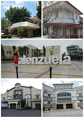 How to get to Valenzuela City with public transit - About the place