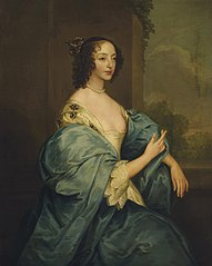 Portrait of Queen Henrietta Maria, as St Catherine