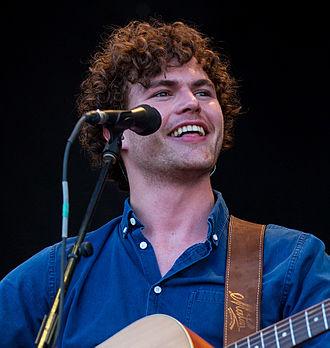 Vance Joy - Joy at the Austin City Limits Music Festival in Austin, Texas, in 2015