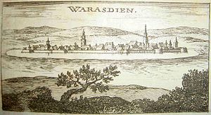 Varaždin - Varaždin in 1668.