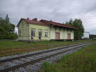 Vaskiluoto railway station Railway station in Vaasa, Finland