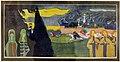 Vassily kandinsky, grüne frauen (donne verdi), 1907, linoleografia.JPG