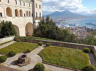 Certosa di San Martino - Hanging gardens