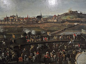 Torstenson War - The siege of Brno in 1645, by Swedish and Transylvanian forces led by Torstenson